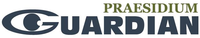 Praesidium Guardian logo: a watchful eye