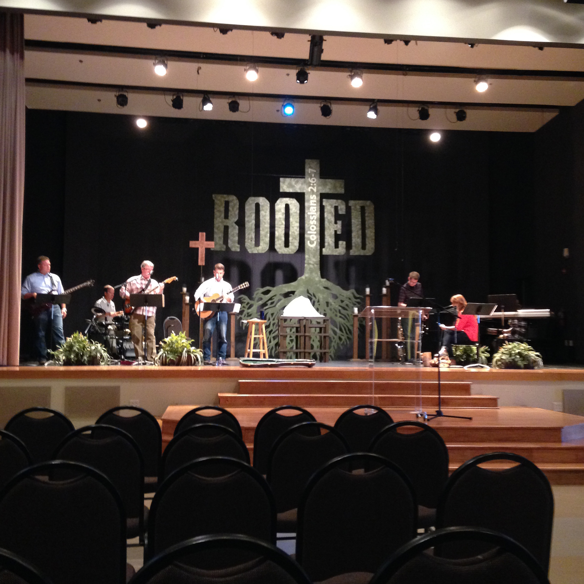 'Rooted' stage set