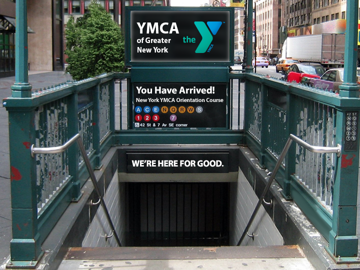 YMCA of Greater New York: Orientation Course title screen